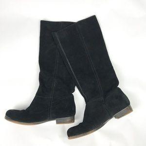 Nine West Vintage America Black Suede Boot